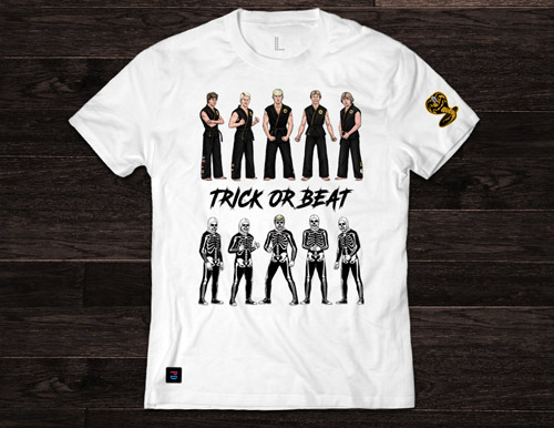 Trick or Beat T-Shirt design by Marten Go aka MGO