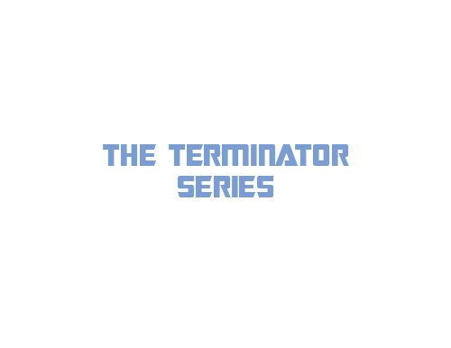 The Terminator Series Characters logo